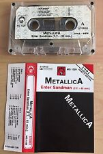 METALLICA - Enter Sandman MC 1991 RARE 1'ST POLISH PRESS