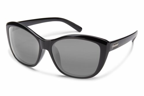 Suncloud Skyline Sunglasses Black Frame Polarized Gray Lens S-SIPPGYBK