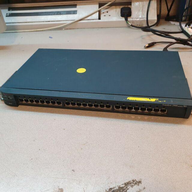 Cisco WS-C2924-XL-EN 24 Port Interrupteur Catalyseur 2900 Séries XL
