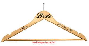 PERSONALISED-VINYL-DECALS-STICKERS-FOR-COAT-HANGERS-DIY-WEDDING-PROM