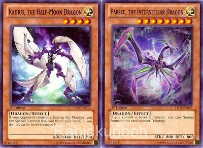 the Half-Moon Dragon LTGY-EN014 Common Yu-Gi-Oh Card U Radius New