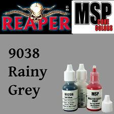 RAINY GREY 9038 -MSP core15ml 1/2oz paint pot peinture figurine REAPER MINIATURE
