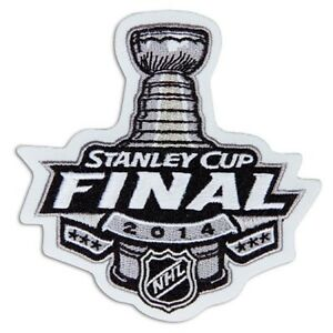 Nhl Collectibles 2014 Stanley Cup Final Logo Jersey Patch National