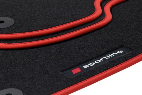 Fußmatten Sportline für Audi A5 F5 Coupé S-Line Quattro 2016