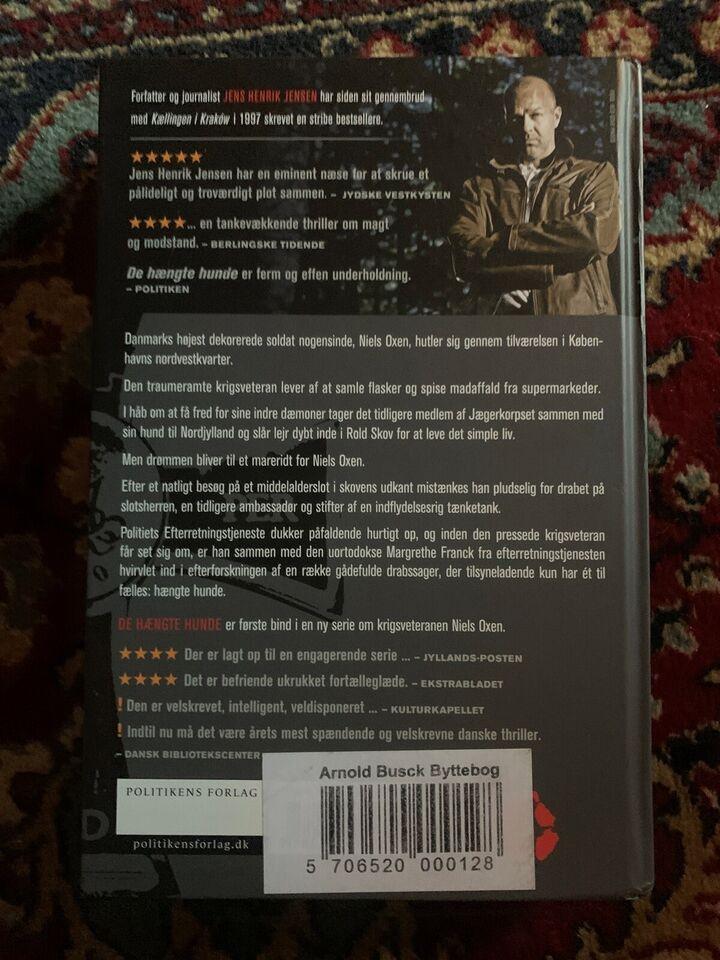 De hængte hunde, Jens Henrik Jensen, genre: roman