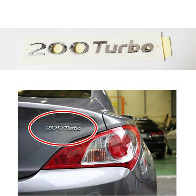 EMBLEM TRUNK REAR 200TURBO for HYUNDAI GENESIS COUPE 2009-2014 863112M000