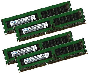 4x-8GB-32GB-DDR3-1333-Mhz-RAM-Fujitsu-Primergy-RX100-S7-D3034-ECC-UDIMM-Samsung