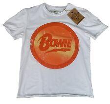 ad5c4141c5 Amplified David Bowie Diamond Dogs Logo Star Vintage Design T-Shirt G.M / L