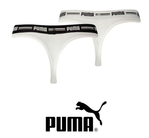 Größe S // 38 String Slip weiss 2er Pack Puma