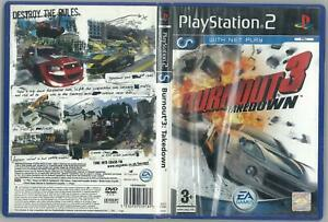 Details about BURNOUT 3 TAKEDOWN SONY PS2 COMPLETE EXCELLENT USED PAL