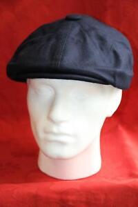 Haben Sie Einen Fragenden Verstand Blue Wool Retro Newsboy Bakerboy Gatsby Traditional 8 Panel Cap Hüte & Mützen Herren-accessoires