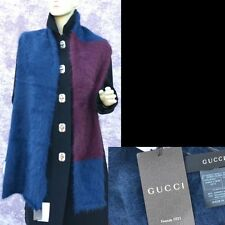 GUCCI Authentic New Large Designer Womens Mens Wrap Scarf angora