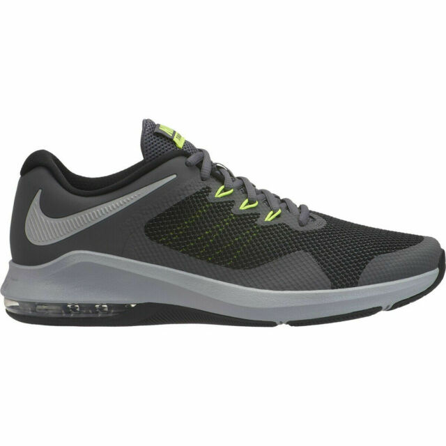Nike Air Max Alpha Trainer Training Shoes Gray Green Black AA7060 006 Men's NEW