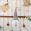 Christma Tree Hanging Gnome Santa Plush Doll with LED Light Ornaments Home Decor
