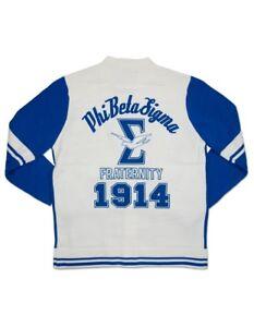 Phi Beta Sigma Fraternity Cardigan Sweater Heavy Weight Sweater