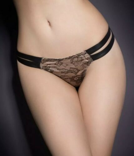 Uk 8 Soiree RRP £175.00 agent provocateur Milanna Thong Size 2