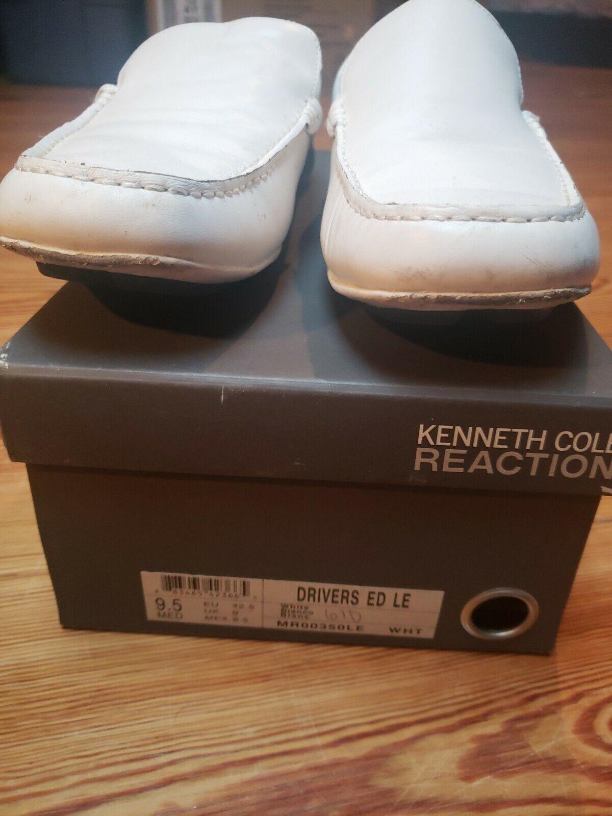 Kenneth Cole Reaction White Men's Shoe 9.5
