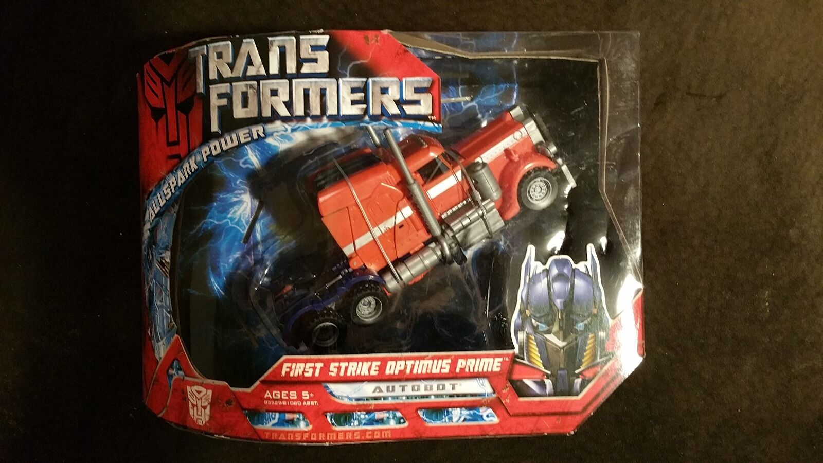 Transformers 2007 Voyager Class First Strike Optimus Prime G1 Deco MISB