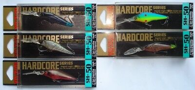 Duel Hardcore Shad SH 50 Angeln, Japan Wobbler, Köder