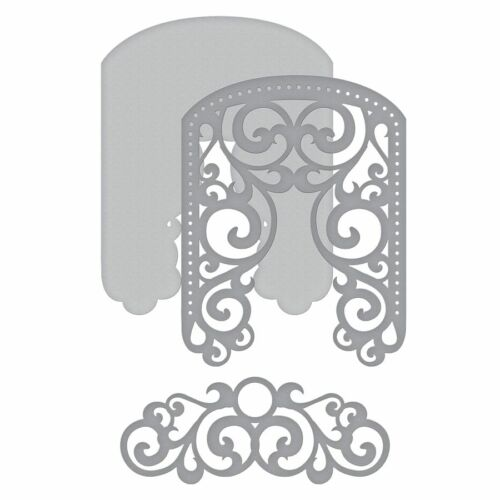 Arched Lace Set Handmade Stencil Paper card Making Die-Cut Embossing Handcrafts