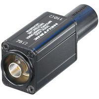 Neutrik Naditbnc-mx 75 Ohm Bnc F To 110 Ohm Xlr M Adapter