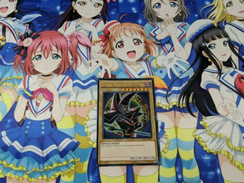 YUGIOH Dark Magician Alternate Arkana Red Art Ultra Rare YGLD-ENB02 NM