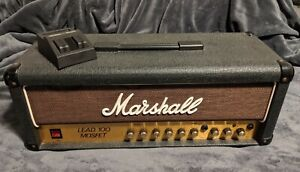 Marshall-Lead-100-Mosfet-Guitar-Head-Solid-State-Vintage