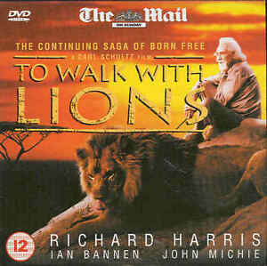 DVD  TO WALK WITH LIONS  Starring Richard Harris amp Ian Bannen - Yeovil, Somerset, United Kingdom - DVD  TO WALK WITH LIONS  Starring Richard Harris amp Ian Bannen - Yeovil, Somerset, United Kingdom