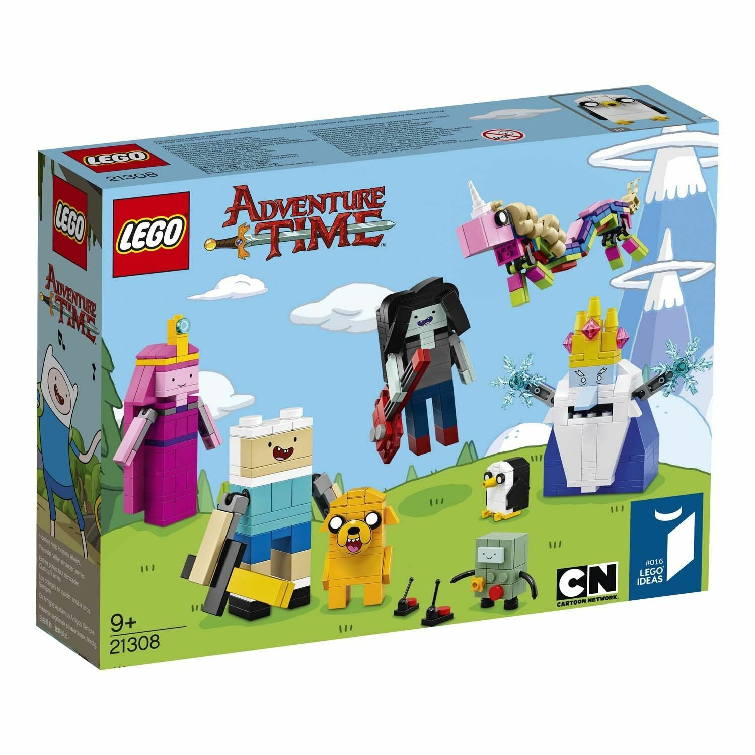 Lego 21308 Adventure Time nouveau  SEALED  se hâta de voir