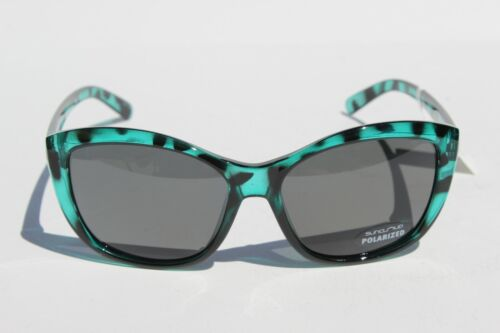 SUNCLOUD Skyline POLARIZED Womens Sunglasses Petrol Tortoise//Gray NEW Smith