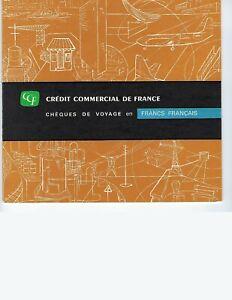 FRANCE-CREDIT-COMMERCIAL-DE-FRANCE-SPECIMEN-TRAVELERS-CHECKS-SET-UNC