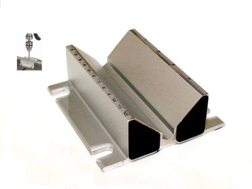 auto-centrage Perceuse Presse Jig Etau tuyau rond stock en aluminium extrudé NOUVEAU