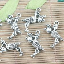 400pc silver tone 5mm open jump ring findings h0751
