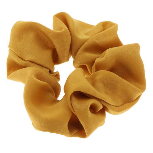 Silk Feel Hair Scrunchies elastische Haargummis weiche Haarschleife