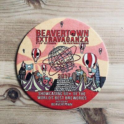 Beavertown Beer Mat Coaster Brand New
