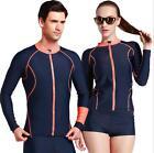 NEW ARRIVAL! Men&Women Snorkeling Diving Wetsuit Surfing Long-sleeve Tops