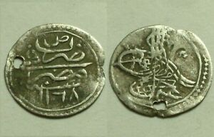 Rare genuine Islamic para coin/OTTOMAN Cairo Egypt Osman III AH1168/AD1755