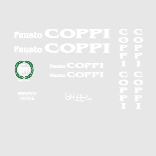 Coppi Bicycle Decals-Transfers-Stickers n.1