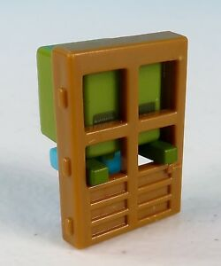 Image is loading Minecraft-Zombie-at-Door-Obsidian-Series-4-Blind- & Minecraft Zombie at Door Obsidian Series 4 Blind Box Figure Brand ...
