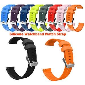 Silikon-Armband-Watctband-fuer-Garmin-Vivoactive-3-Vivomove-HR-Forerunner-645-245