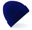 Unisex GREY GREEN or BLACK Chunky Ribbed Beanie Soft Acrylic Knitted Ski Hat