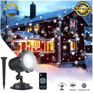 e972305d445 Image is loading Profesional-Luces-LED-Para-Navidad-Luz-Proyector-de-