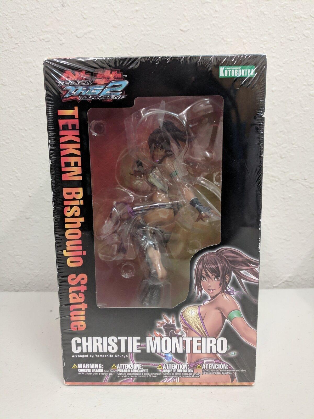 Kotobukiya  Tekken Tag TournaHommest 2  Chriscravate Monteiro Bishoujo Statue  meilleure mode