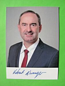 Autogrammkarte - Hubert Aiwanger - Freie-Wähler - orig. autogr.