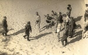 WWII ORG GERMAN Army RP- Soldier- Semi Nude- Gay Interest