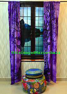 Tree-of-Life-Curtain-Window-Drapery-Decor-Wall-Curtains-Panel-Indian-Tapestries