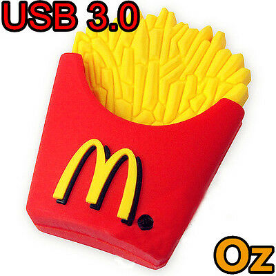 16GB French Fries 3D Quality USB Flash Drives WeirdLand Chips USB Stick
