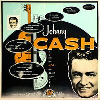 Johnny Cash With His Hot & Blue Guitar Debut Album Org Music Vinyl Lp