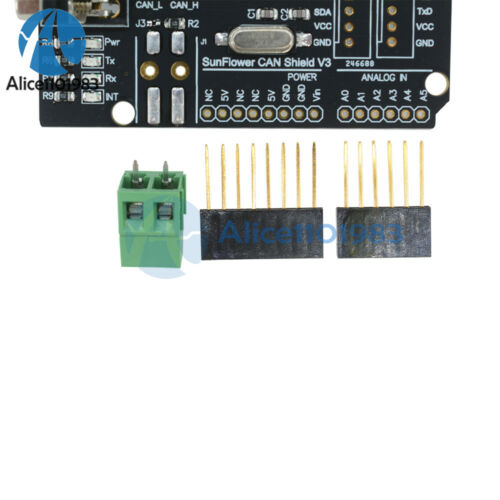 MCP2515 TJA1050 EF02037 CAN Bus Shield Receiver SPI Controller IC for Arduino