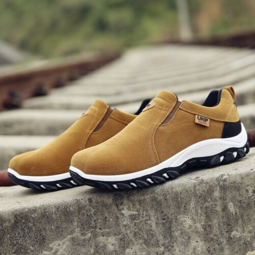 Women/'s Loafers Comfy Slip On Flats Outdoor Slip Resistant Hiking Sneakers New